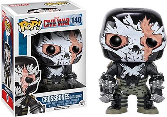 Funko Pop! Captain America: Civil War - Crossbones  - Verzamelfiguur