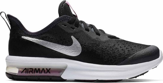 Nike Air Max Sequent 4 (Gs) Sneakers Unisex - Black - Maat 36