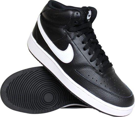 Nike Court Vision Mid Dames Sneakers - zwart - Maat 38.5