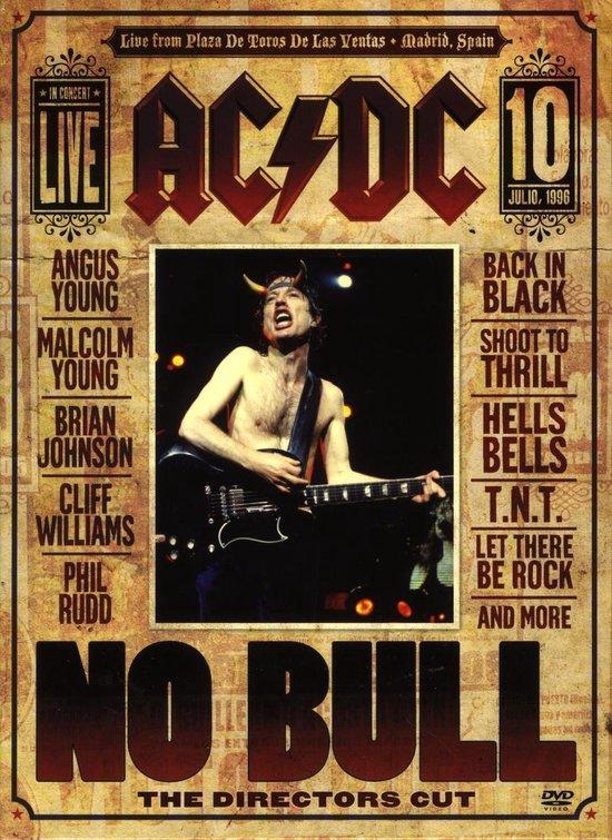 Cover van de film 'Ac/Dc - No Bull'