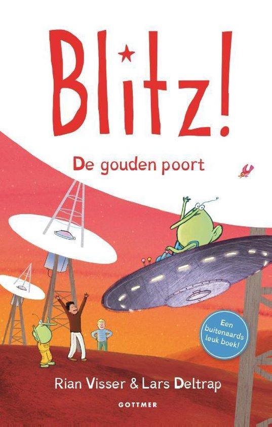 Boek cover Blitz! 6 -   De gouden poort van Rian Visser (Hardcover)
