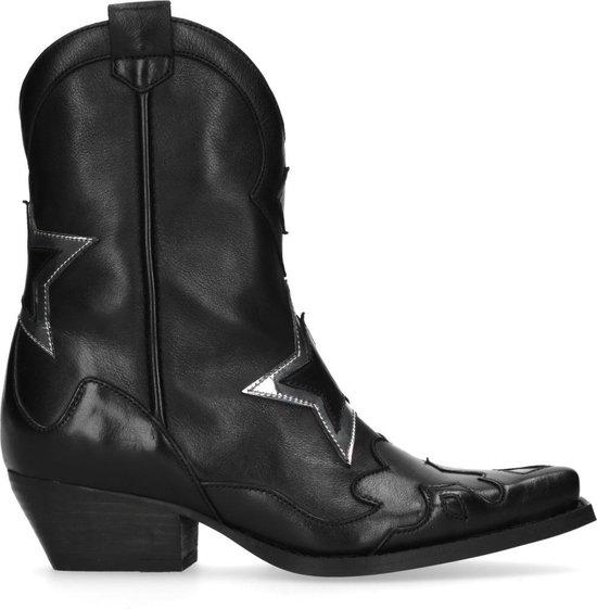 Sacha - Dames - MarijeZuurveldx zwarte cowboylaarzen - Maat 37