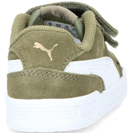 bol.com | Puma Caracal SD Infant sneakers groen - Maat 24