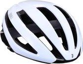 BBB Cycling Fietshelm Maestro Unisex Racefiets - Glanzend Wit Maat M - BHE-09