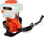 Kibani Motor Rugspuit / Vernevelaar - 41.5 cc / 2.9 PK 2-takt Benzine Motor - 7500 Toeren/Minuut - Onkruidverwijderaar