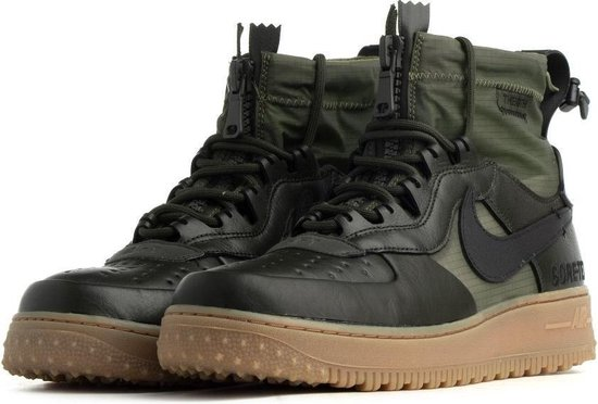 bol.com | Nike Air Force 1 Winter GTX Olijf Groen - Heren ...