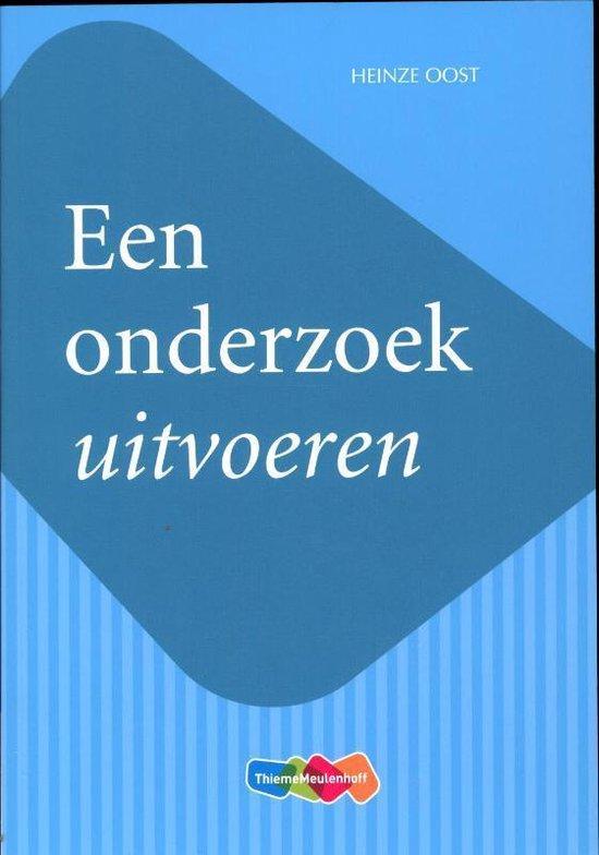 Een onderzoek uitvoeren - Heinze Oost | Fthsonline.com
