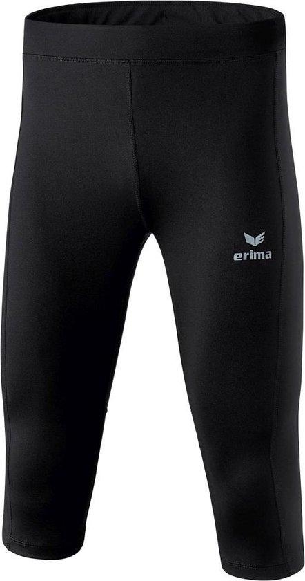 Erima Performance 3/4Broek - Shorts  - zwart - 128
