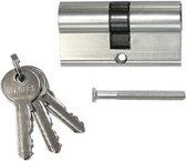 Cilinder deurslot inclusief 3 sleutels - Cilinderslot - Euro profiel cilinder slot