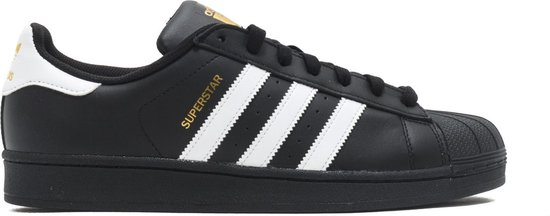adidas Superstar FOUNDATION Heren Sneakers - Core Black/Ftwr White/Core Black - Maat 44 2/3