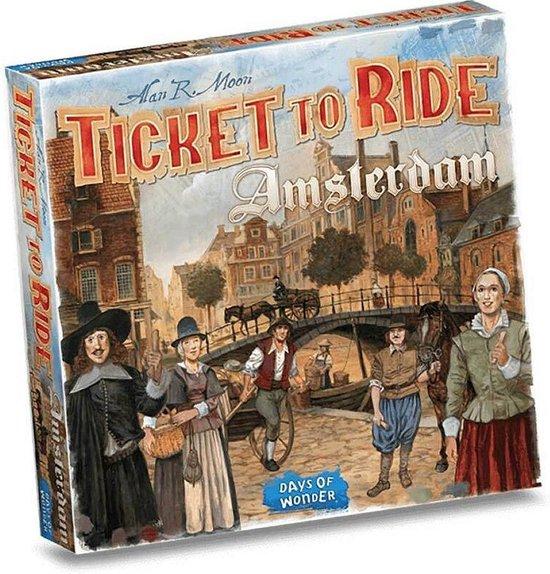 Ticket to Ride Amsterdam - Bordspel - Days of Wonder