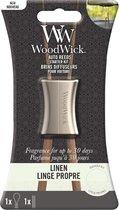 Woodwick Auto Reed Starter Kit Linnen