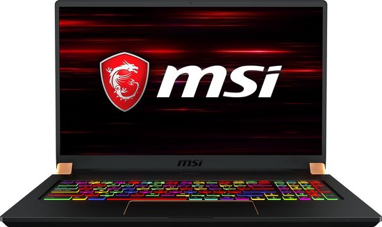 MSI Gaming GS75 10SE-091BE - Gaming Laptop - 17.3 Inch - Azerty