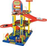 Afbeelding van Garage speelset met lift incl. 6 autos 70cm speelgoed