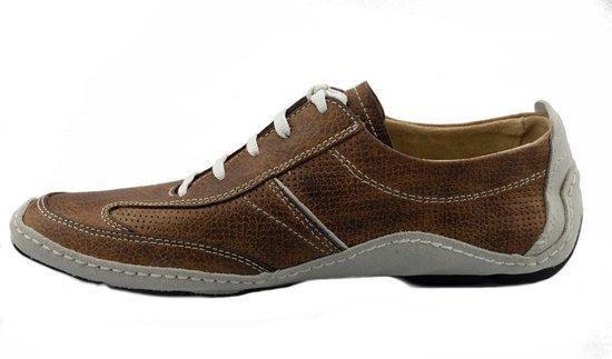 Camel Active 287.13.01 heren sneaker - bruin - maat 43