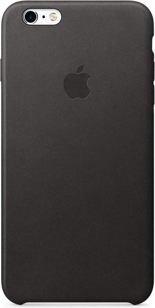 Apple Leren Hoesje voor iPhone 6/6s Plus - Zwart