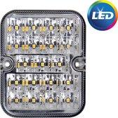 Proplus Achteruitrijlamp 12/24 Volt Led 10 X 8 Cm Wit