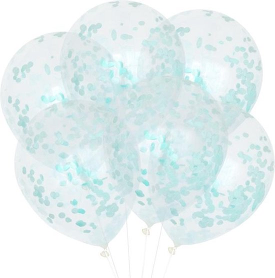 Confetti Ballonnen Mint (6st) House Of Gia