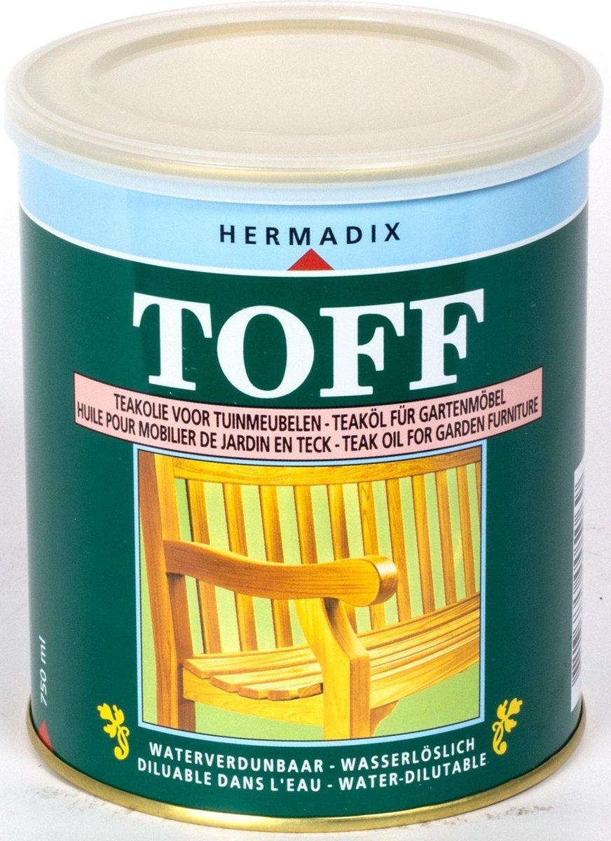 Hermadix Toff Teak onderhoudsolie - 0,75 liter
