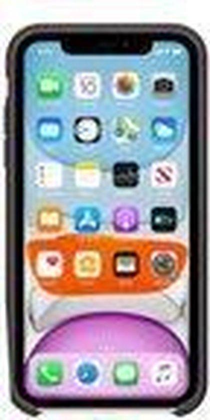 Apple iPhone 11 hoesje - Zwart - Siliconen
