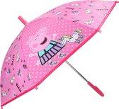 Peppa Pig/Big kinderparaplu voor jongens/meisjes/kinderen 71 cm - Kinderparaplu - Regenkleding/regenaccessoires