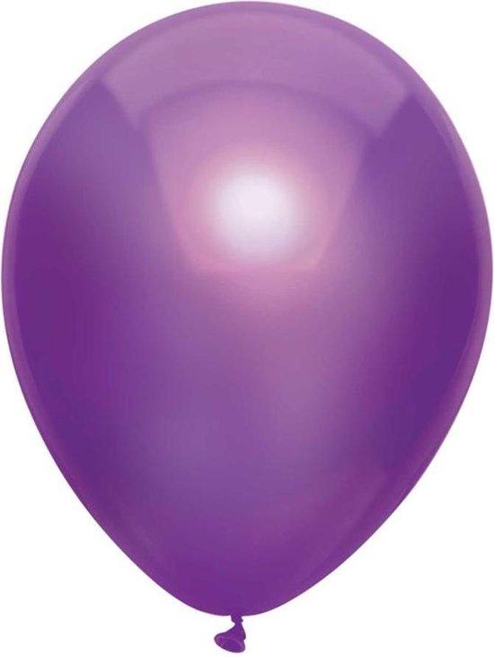 Haza Original Ballonnen Metallic 100 Stuks Paars