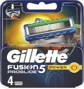 Gillette Fusion ProGlide Power - 4 stuks