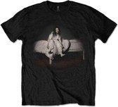 Billie Eilish Heren Tshirt -M- Sweet Dreams Zwart
