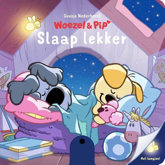 Boek cover Woezel & Pip - Slaap lekker van Guusje Nederhorst (Hardcover)