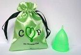 De Groene Cup Herbruikbare Menstruatiecup - Large – Duurzaam