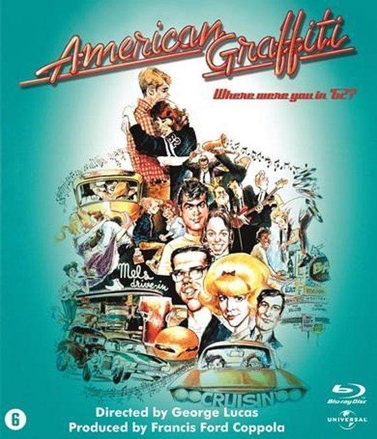 Cover van de film 'American Graffitti'