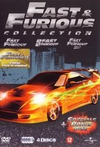 Fast & The Furious (1-3) (4DVD)