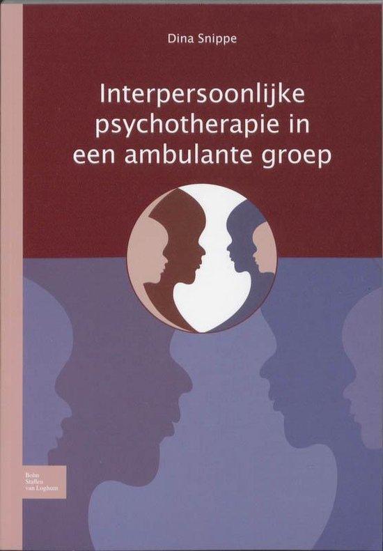 Interpersoonlijke psychotherapie in een ambulante groep - D Snippe pdf epub