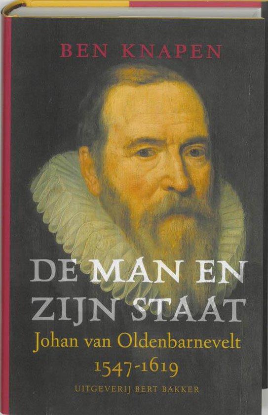 Cover van het boek 'De man en zijn staat' van B. Knapen
