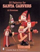 20 Patterns for Santa Carvers