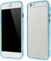 TPU Combo Bumper iPhone 6(s) - Cyaan