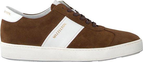 Mazzeltov Heren Lage sneakers 3463 - Bruin - Maat 43