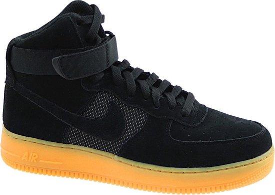 Nike Air Force 1 High 07 Canvas schoenen zwart