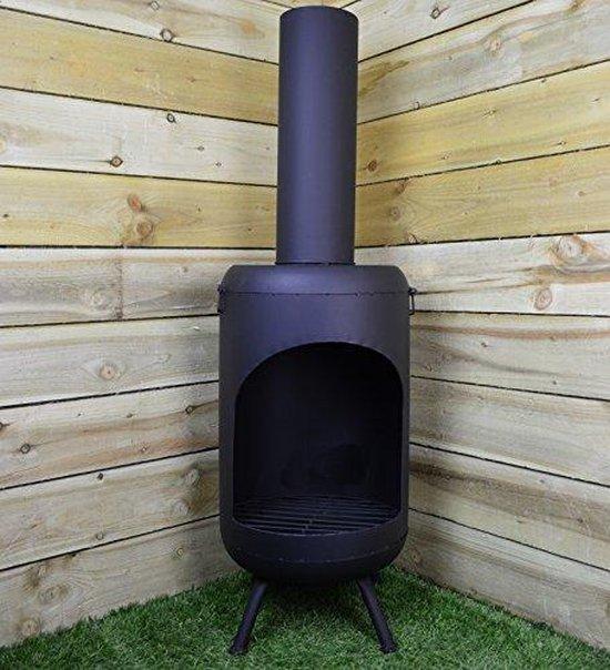 loks Tuinhaard - 105 cm - Metaal - Zwart