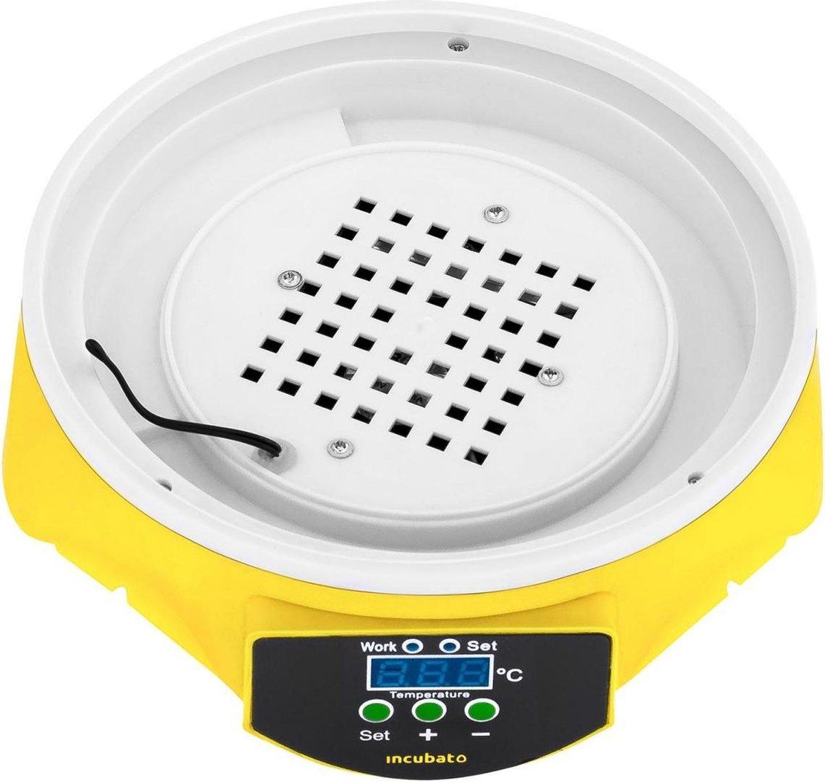 Incubato Broedmachine - 7 eieren - inclusief staaflamp