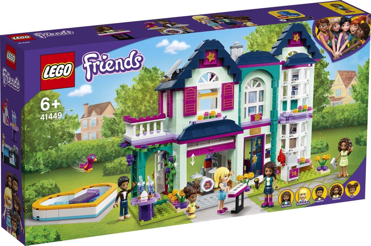 LEGO Friends Andrea's Familiehuis - 41449