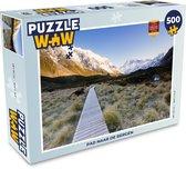 Puzzel 500 stukjes Bergen - Pad naar de bergen  - PuzzleWow heeft +100000 puzzels