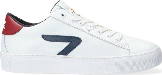 HUB Heren Lage sneakers Hook-z - Wit - Maat 44