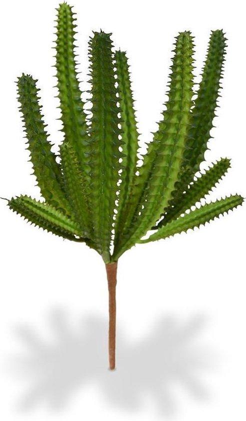 Euphorbia Mini Cactus kunstboeket 20 cm