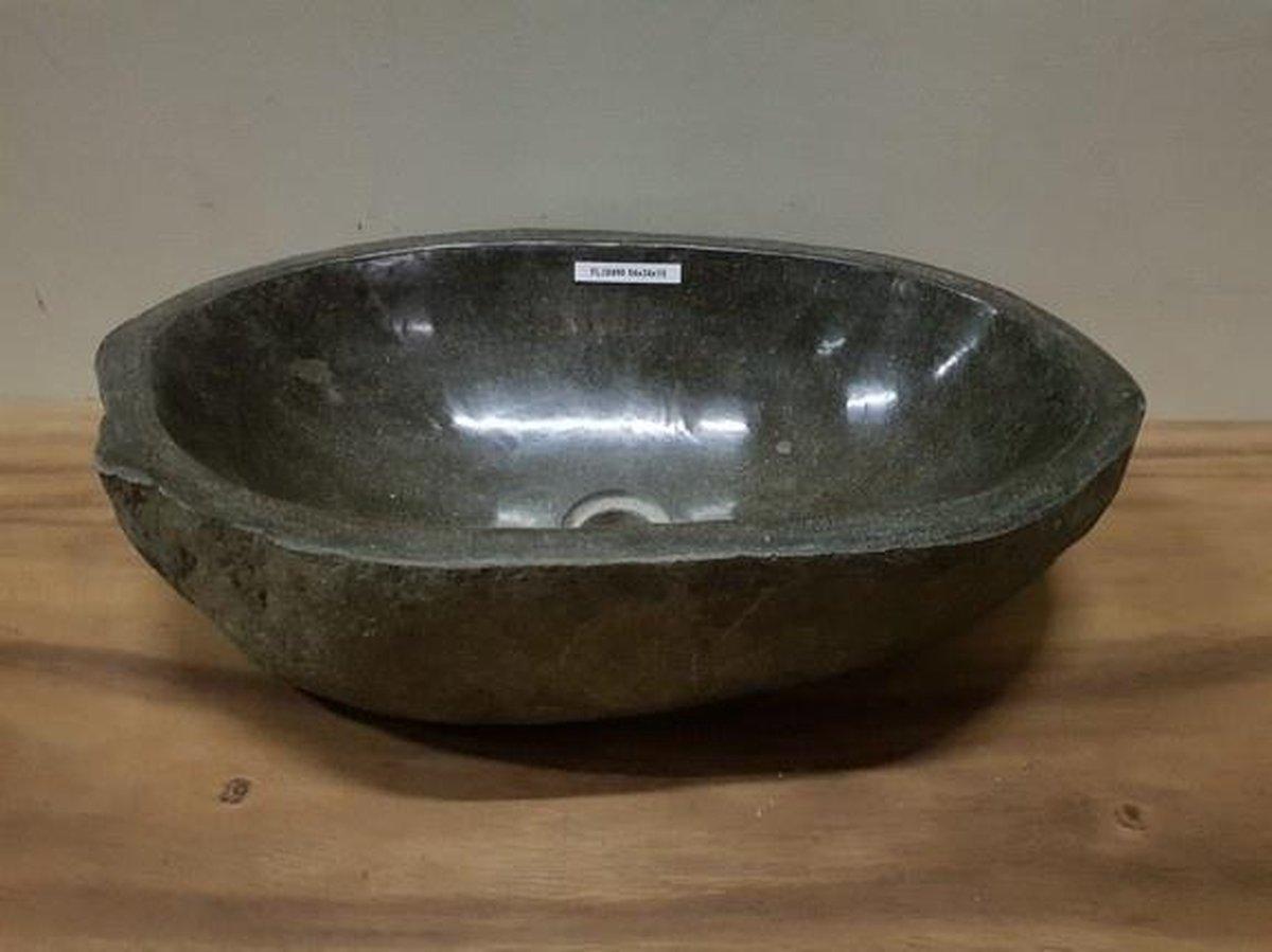 Waskom natuursteen FL20490 - 54x34x15cm