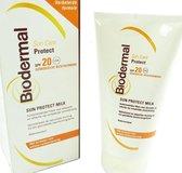 Biodermal SPF 20 - 150 ml - Zonnebrand crème