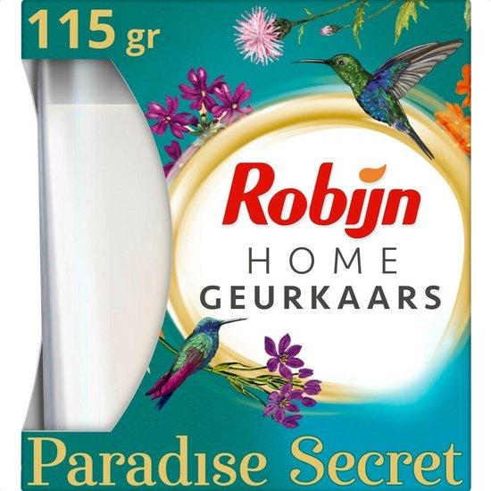 3x Robijn Geurkaars Paradise Secret 115 gr
