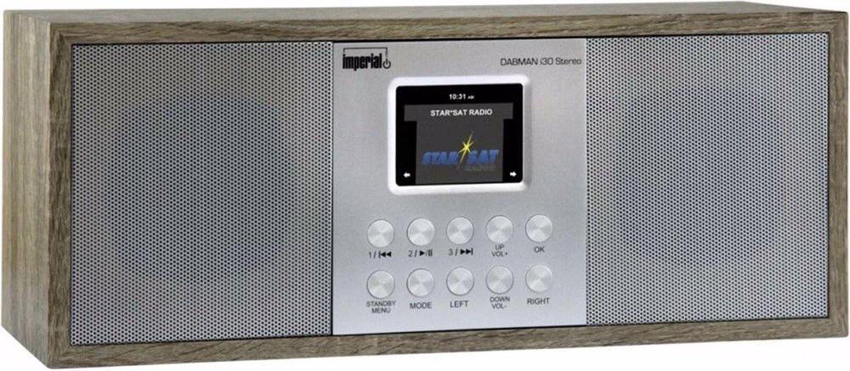 Imperial DABMAN i30 Stereo DAB+ FM en Internet Radio met bluetooth | vintage