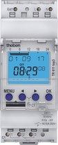 Theben theben-schakelklok 27 met weekprogramma - analoge schakelklok voor binnengebruik, stopcontactschakelklok, stekker voor tijdprogramma's, 0270930
