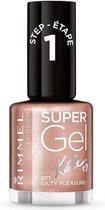 Rimmel London SuperGel Nagellak - 044 Rock N Sparkle - Rood